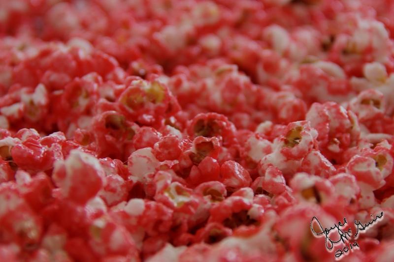 Raspberry Popcorn